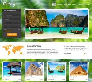 Blog y web para sector turismo, viajes y aventura Midway