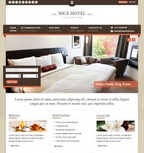 Web para hoteles, spa y restaurantes Nice Hotel