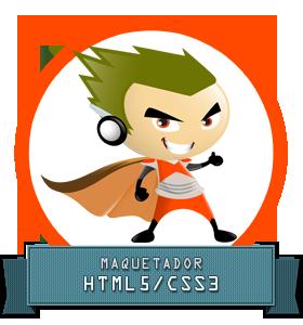 Se necesita maquetador HTML5/CSS3. webartesanal.com