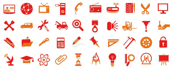 200 iconos vectoriales gratuitos para uso personal y comercial