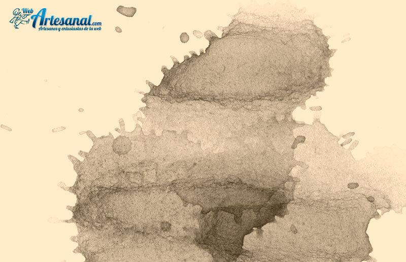 Juego de pinceles Photoshop gratuitos para crear manchas de bebida en una imagen