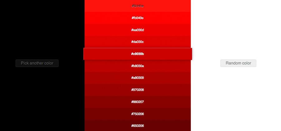 Herramienta para encontrar colores próximos: 0to255.com