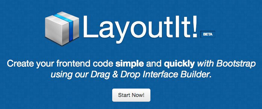 Herramienta online para crear mockups y maquetas HTML basada en bootstrap