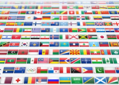 2600 iconos gratuitos de banderas y paises para uso personal y comercial