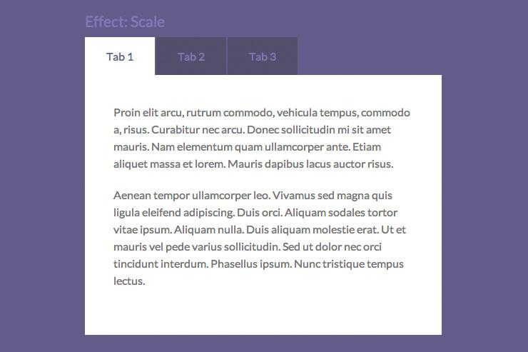Tabulous: Plugin jQuery para almacenar contenido HTML en pestañas