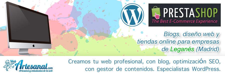 Mantenimiento web Leganés