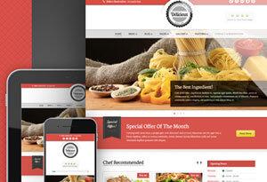 Crear o hacer página web para restaurante: delicieux