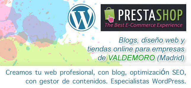 Mantenimiento de páginas web en Valdemoro. Precios y tarifas