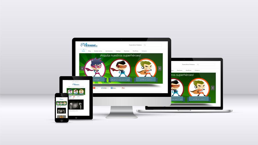 Cómo actualizar tu web para dispositivos móviles y tabletas: diseño responsive o adaptable
