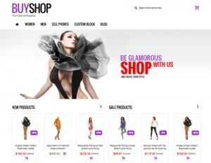 Crear o hacer página web de ropa, moda y productos textiles, con y sin tienda online - buyshop
