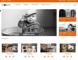 Crear o hacer página web de ropa, moda y productos textiles, con y sin tienda online - shoppik