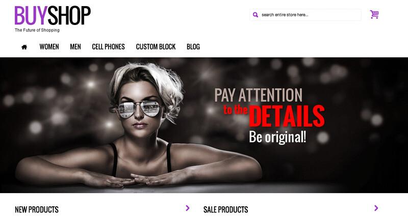 Crear o hacer página web de ropa, moda y productos textiles, con y sin tienda online