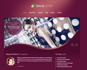 Hacer o crear página web de peluquería: Recomendaciones y precios orientativos. Tema Beauty Center