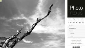 Plantilla Photonexus. Cómo crear una página web o blog de diseño minimalista y elegante