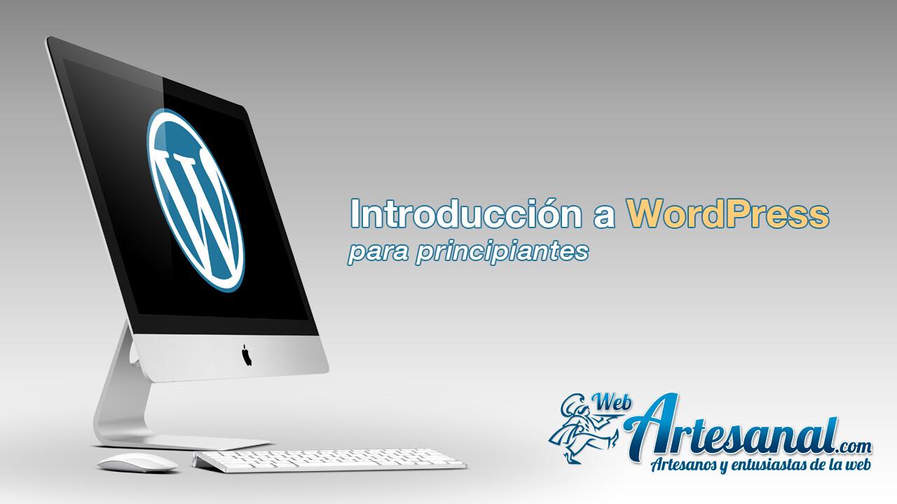 Introducción a WordPress para principiantes
