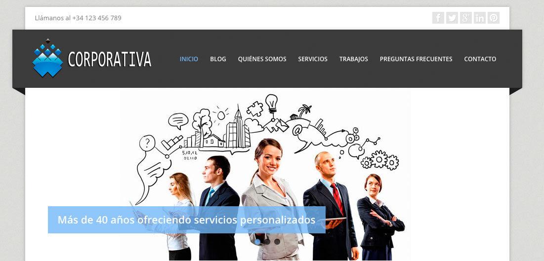 Cómo crear una página web profesional económica con blog y lista para usar, apta para dispositivos móviles