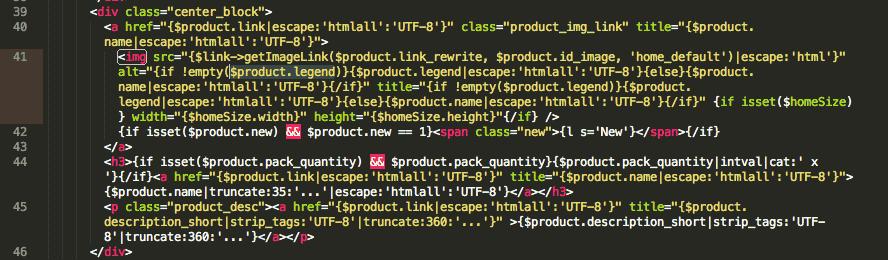 Cómo optimizar las imágenes para SEO en Prestashop rellenando el atributo ALT