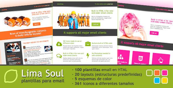 100 plantillas para newsletter o email-marketing de propósito general