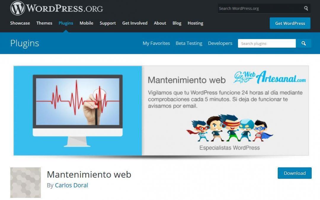 Cómo detectar una caída de página en tu WordPress